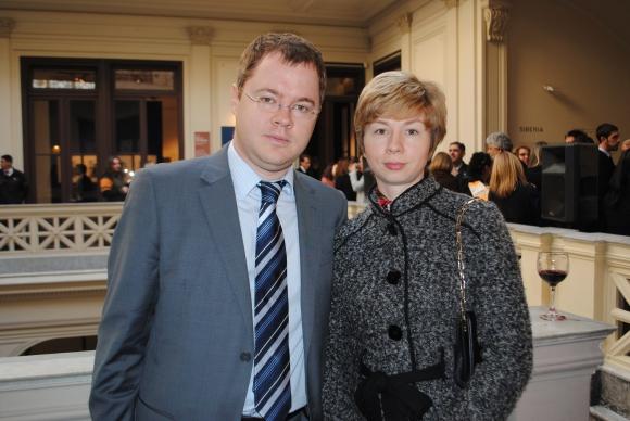 Alexey y Natalia Skorodumov.