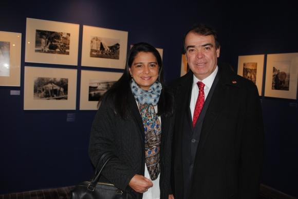 Gabriela Villalobos, Embjador de Costa Rica Arnoldo Herrera.