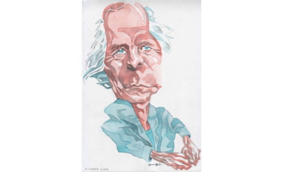 Richard Ford, dibujo de Ombú