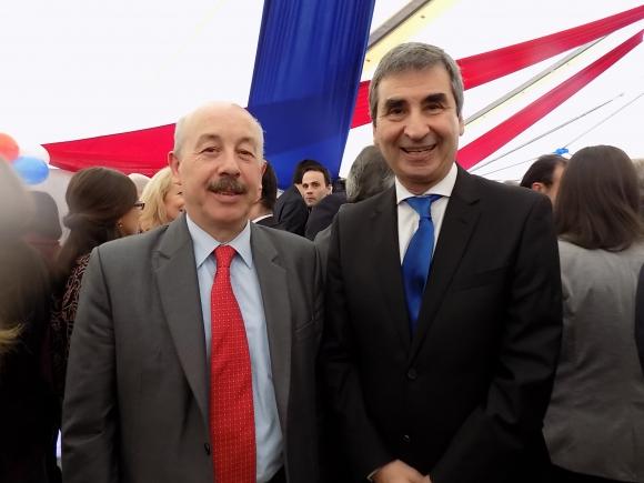 José Luis Olivera, Berch Rupenian. Foto: Sofía Orellano/Ariel Colmegna.