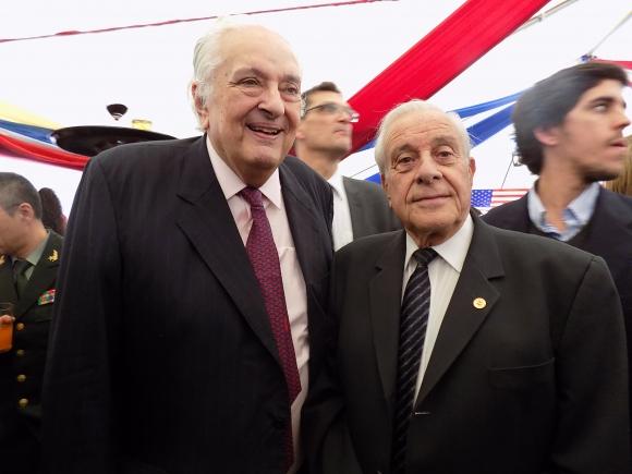 Pedro Nicolás Baridón, Guillermo Lockhart. Foto: Sofía Orellano/Ariel Colmegna.