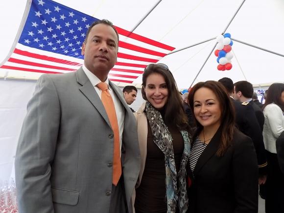 William Armstrong, Omayra Lugardo, Rosemary Ramírez. Foto: Sofía Orellano/Ariel Colmegna.