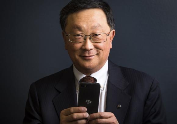 John Chen. El CEO de Blackberry proyecta tendencia positiva en los números de la empresa. (Foto: Reuters)