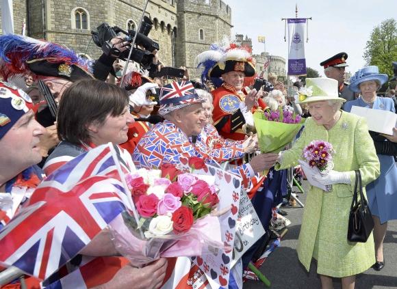 La reina Isabel cumple 90 años. Foto: Reuters