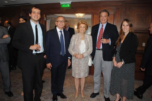 Diego Orrego, Michelle Cohen, Julia Rodríguez Larreta, John Christian Schandy, Emiliana Beati.