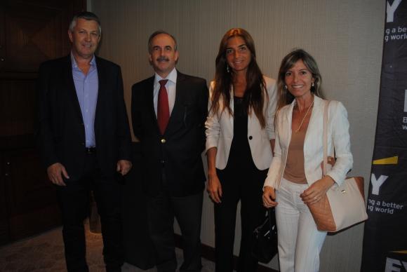 Marcos Guigou, Ruben Martínez, Gabriela Saporta, Adriana Quinteiro.