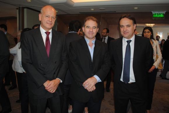 Fernando Reggio, Miguel Sánchez, Leonardo Domankis.