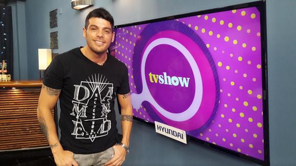 Cristian U en Tv Show.