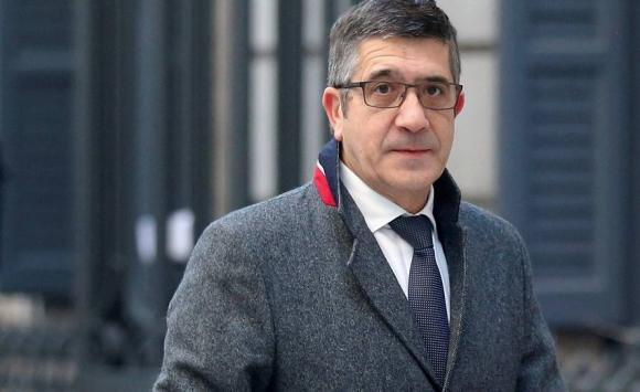 Llegada de Patxi López, nuevo presidente del Congreso español. Foto: Reuters.