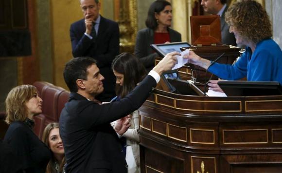 Pedro Sánchez. Foto: Reuters.