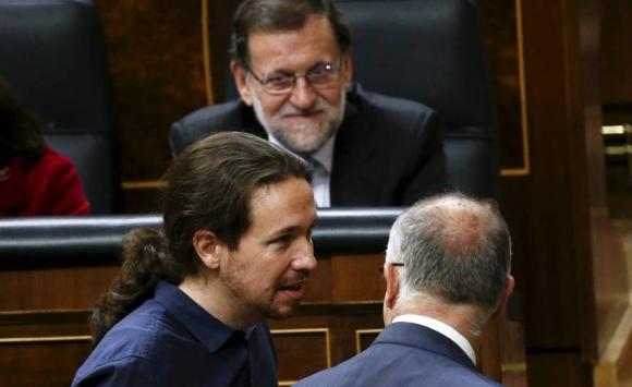 Mariano Rajoy y Pablo Iglesias. Foto: Reuters.