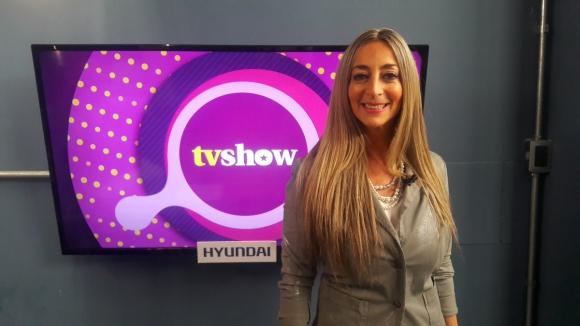 Judy Del Bosque en Tv Show.