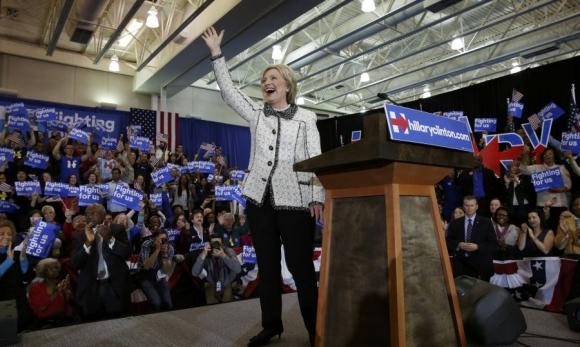 Es la primera victoria contundente en las primarias para Clinton. Foto: Reuters