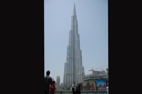 Una de las características de Dubái son sus altas edificaciones. Foto: Lucía Baldomir