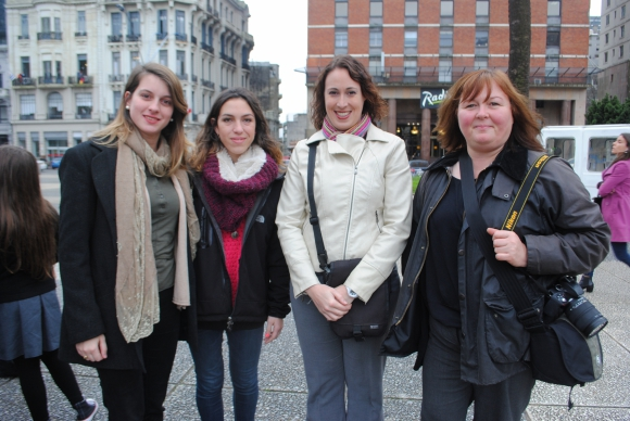 Juliana David, Sofía Rostagno, Ninja Schäfer, Bettina Müller-Conrad.v
