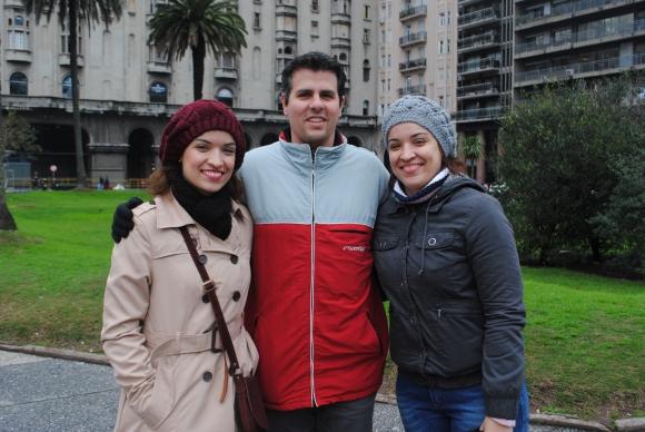 Luciane Fernándes, Fábio Martini, Eliane Fernándes.
