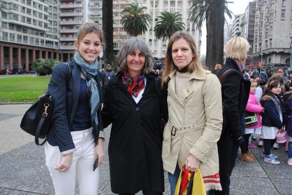 Victoria Bardanca, Susana Hampe, María Eugenia Stahl.