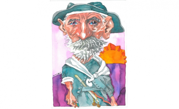 W.H.Hudson, dibujo de Ombú