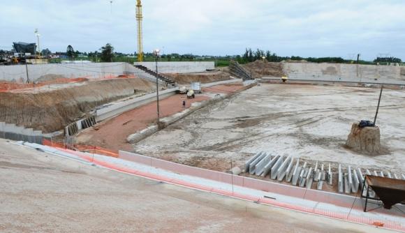 Estadio Peñarol. foto: Marcelo Bonjour