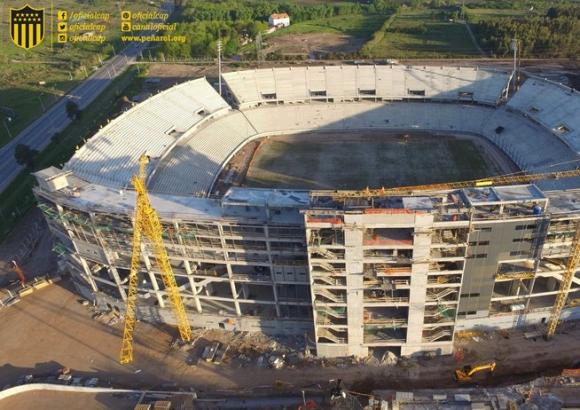Estadio Peñarol. Foto: Peñarol