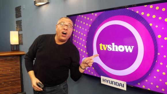 Petru Valensky en Tv Show.