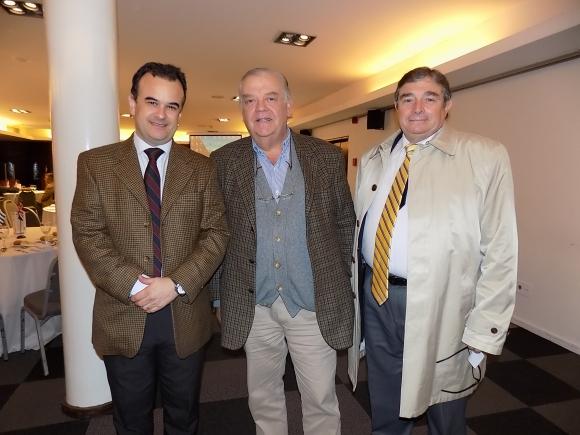 Diego Portos, Jorge Trapp, Atalivar Murialdo.