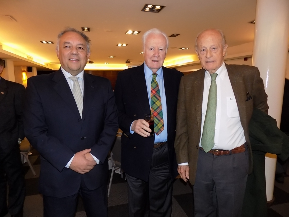 Luis Pecora, Malcolm MacCormack, Jorge Egozcue.