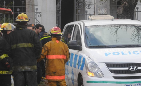 Siete personas murieron en el incendio de un hogar de ancianos. Foto: Francisco Flores.