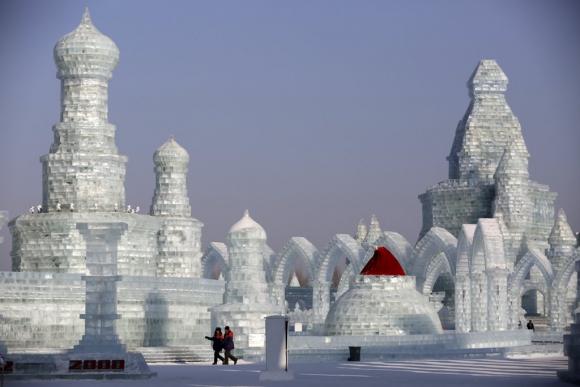 Festival de hielo de Harbin, Foto: AFP