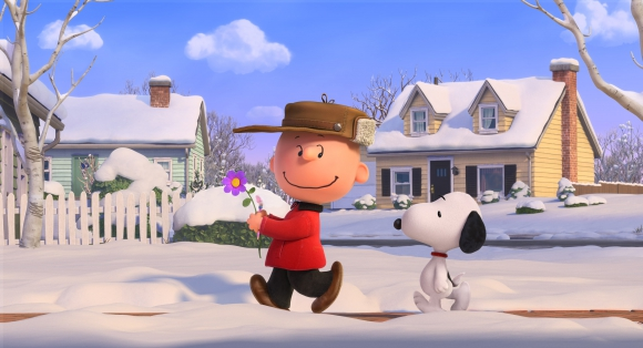 Charlie y su perro Snoopy en una aventura fiel al cómic.