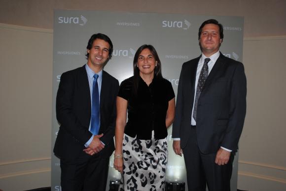 Gerardo Ameigenda, María Jose Frontini, Gonzalo Falcone.