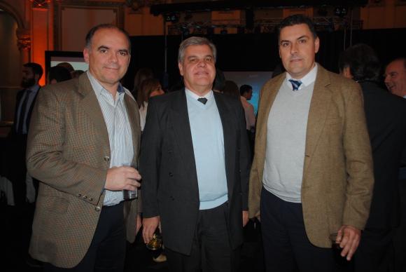 Pablo Eiroa, Álvaro Couto, Carlos Leal.