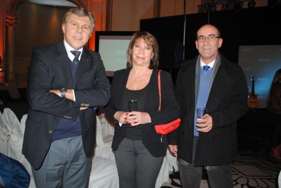 Rúben Tribucio, Graciela Marzoa, Ángel Rosas.