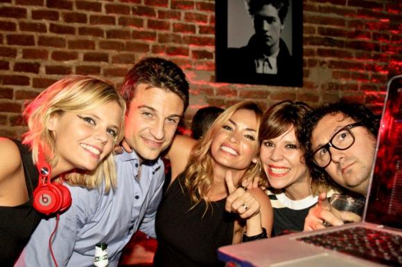 Annasofía Facello, Leonel Delménico, Xime Torres y Max Capote