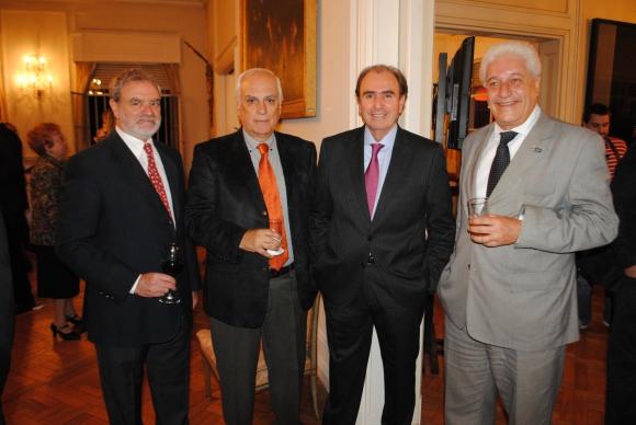 Juan Abdala, Hugo Burel, Daniel Branaa, Gustavo Pereda.
