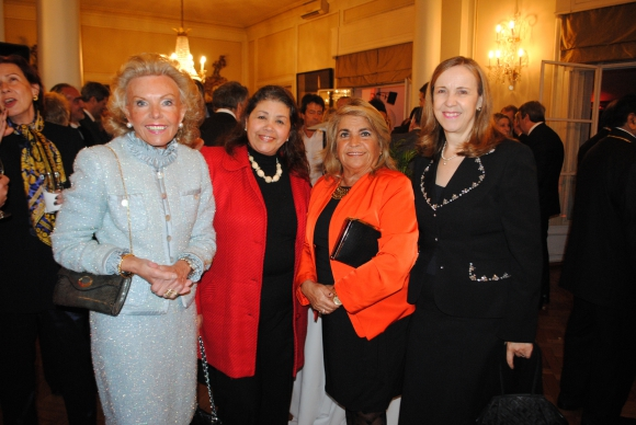Lorena Horne de Ortiz, Libia Ishtay, Jacqueline Campomar, Teresa de Izquierdo.