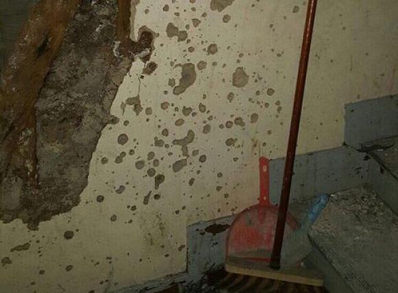 Así quedó el piso en que se escondía quien planeó los atentados en París. Foto: ITV News