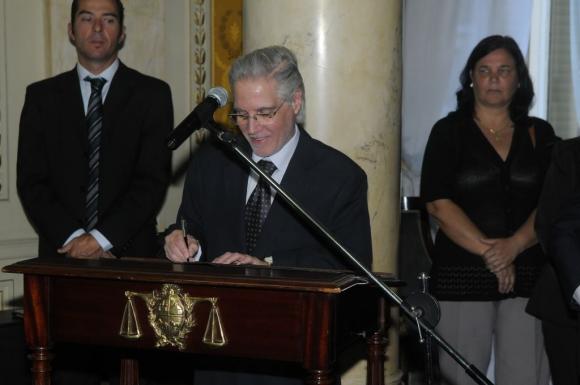 Felipe Hounie, ministro de la Suprema Corte. Foto: Ariel Colmegna