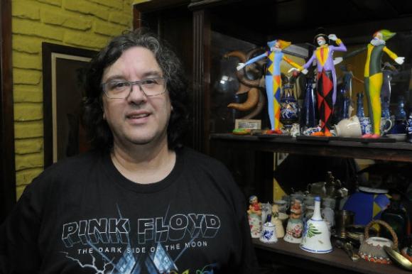 Rubino vive rodeado de trofeos. Tiene más de 70. Foto: Ariel Colmegna.