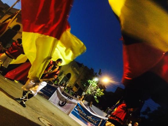 Desfile de Llamadas 2015. Foto: Florencia Barre