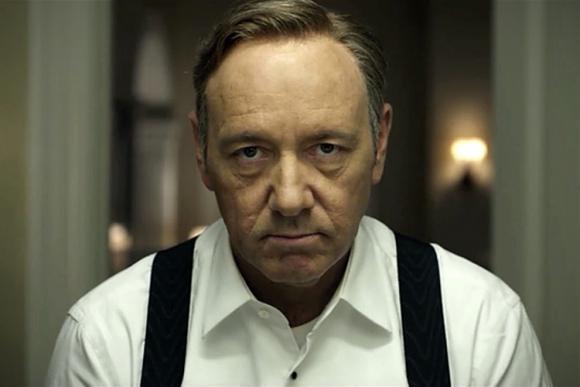 La reciente serie de Netflix nos presenta a Spacey en la piel del inescrupuloso Underwood.