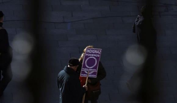 Indignados de todas las edades acudieron al centro de Madrid a pedir un cambio en la política. Foto: Reuters.