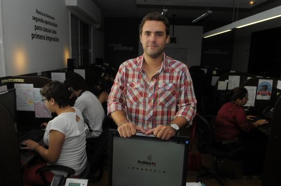 Álvaro García. CMO y socio fundador de PedidosYa (Foto: Archivo El País)