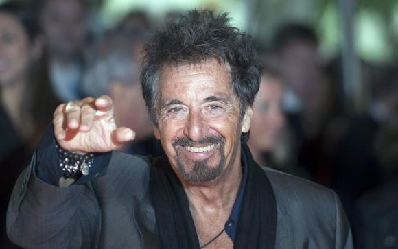 """Con 75 años, Pacino sigue vigente: en cartel se lo puede ver en """"Directo al corazón"""" Foto: EFE"""