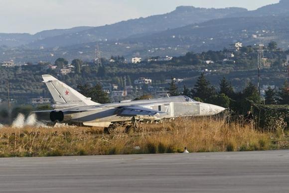 El avión ruso fue atacado por misiles turcos al violar su espacio aéreo. Foto: Reuters.