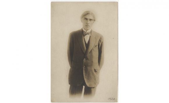 Joaquín Torres-García en Nueva York (© Museo Torres-García)