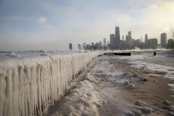 El cambio climático ya se hace sentir fuertemente en EE.UU.. Foto: AFP.