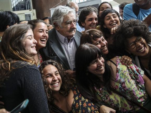 José Mujica en Río de Janeiro. Foto: EFE