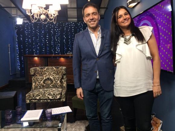Roberto Moar y Lucía Etchegaray en El País Tv.