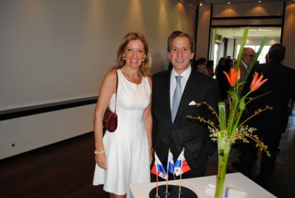 Patricia y Juan Pedro Damiani.